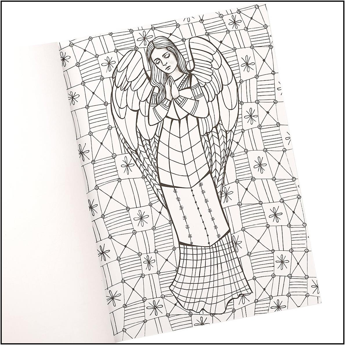 Adult Coloring Book, The Gift of Angels